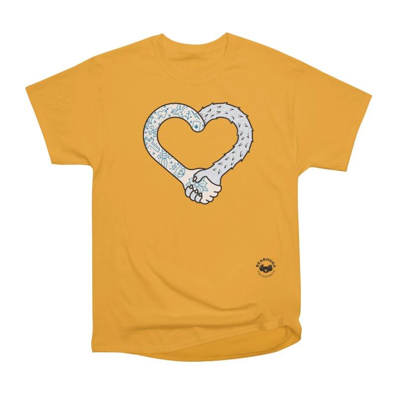 Arm In Arm Men's T-Shirt by Bearhugs For Australia