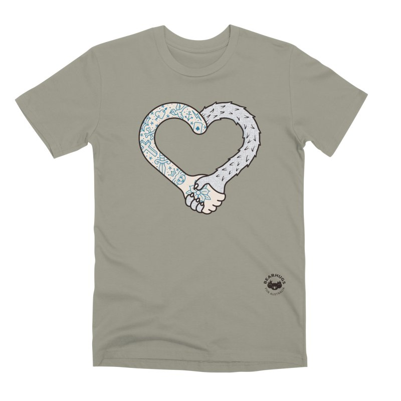 Arm In Arm Men's T-Shirt by Bearhugs For Australia