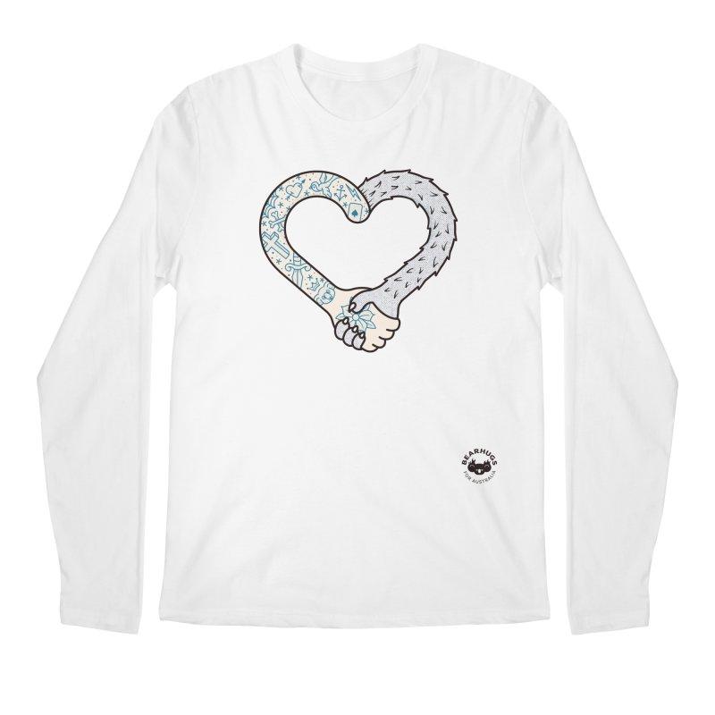 Arm In Arm Men's Longsleeve T-Shirt by Bearhugs For Australia