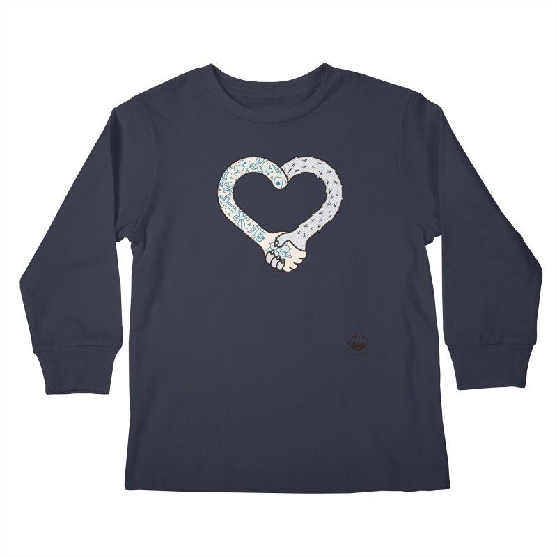 Arm In Arm Kids Longsleeve T-Shirt by Bearhugs For Australia