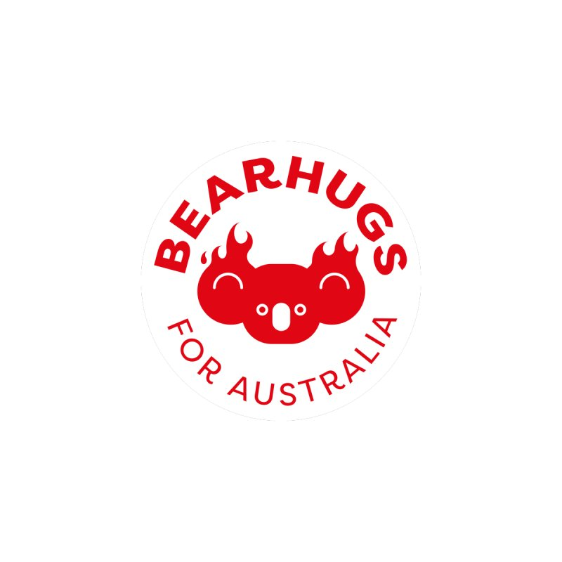 Bearhugs for Australia Men's Zip-Up Hoody by Bearhugs For Australia