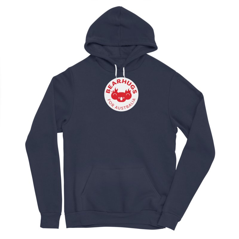 Bearhugs for Australia Men's Pullover Hoody by Bearhugs For Australia
