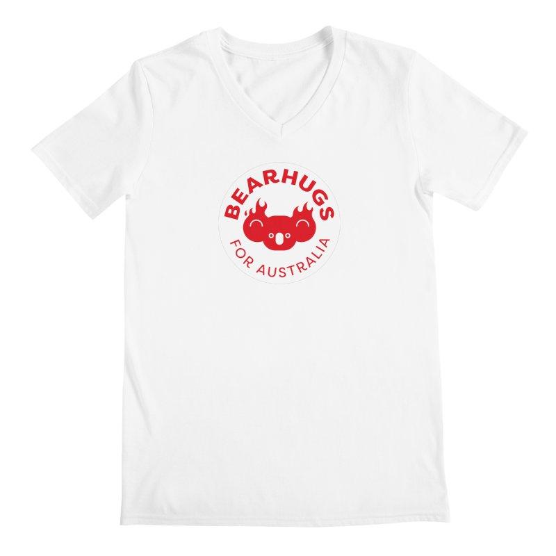 Bearhugs for Australia Men's V-Neck by Bearhugs For Australia