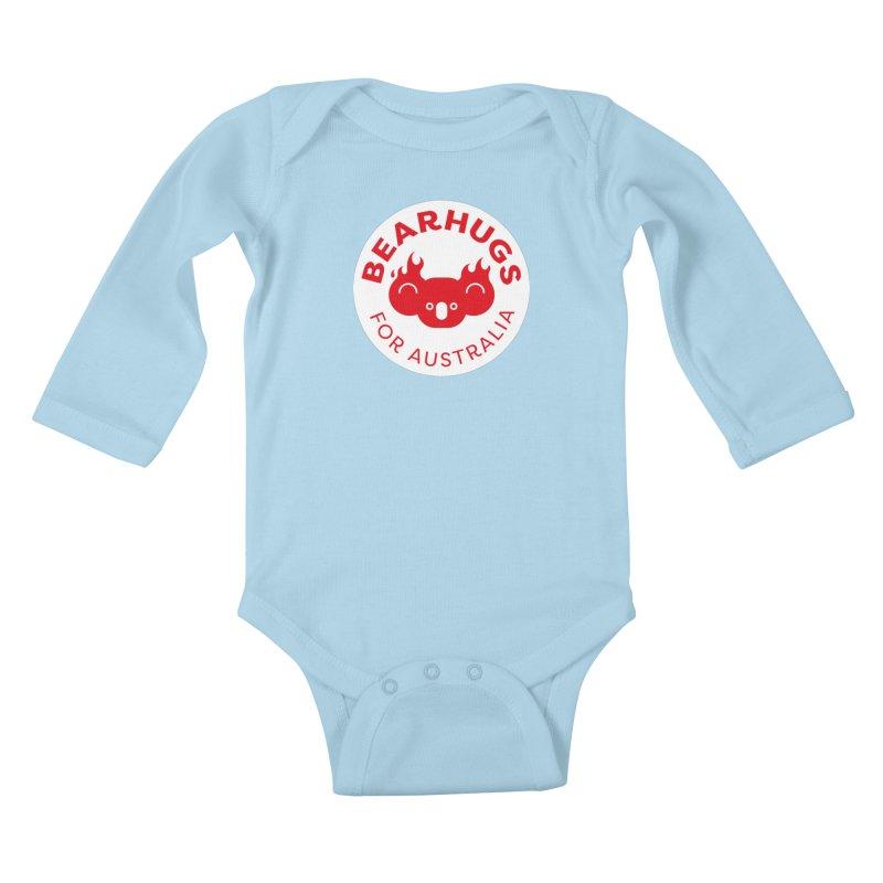 Bearhugs for Australia Kids Baby Longsleeve Bodysuit by Bearhugs For Australia