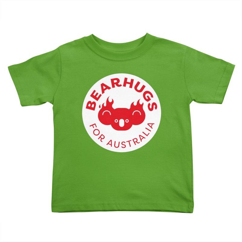 Bearhugs for Australia Kids Toddler T-Shirt by Bearhugs For Australia