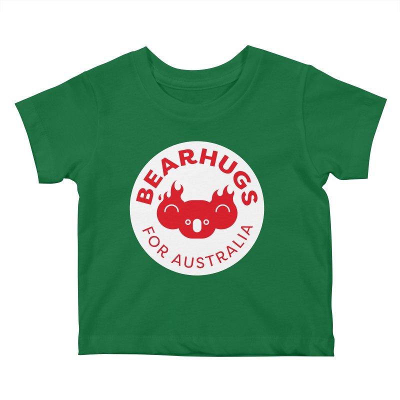Bearhugs for Australia Kids Baby T-Shirt by Bearhugs For Australia