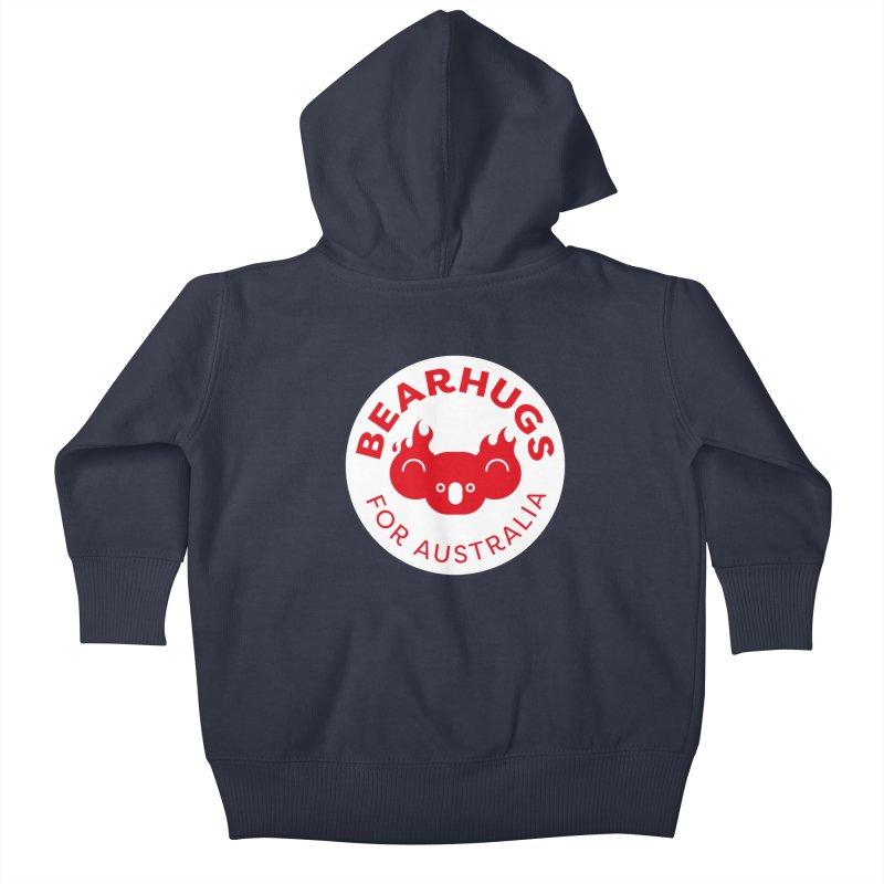 Bearhugs for Australia Kids Baby Zip-Up Hoody by Bearhugs For Australia