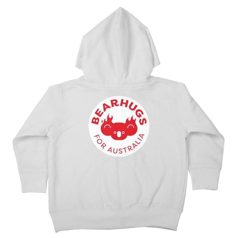 Bearhugs for Australia Kids Toddler Zip-Up Hoody by Bearhugs For Australia