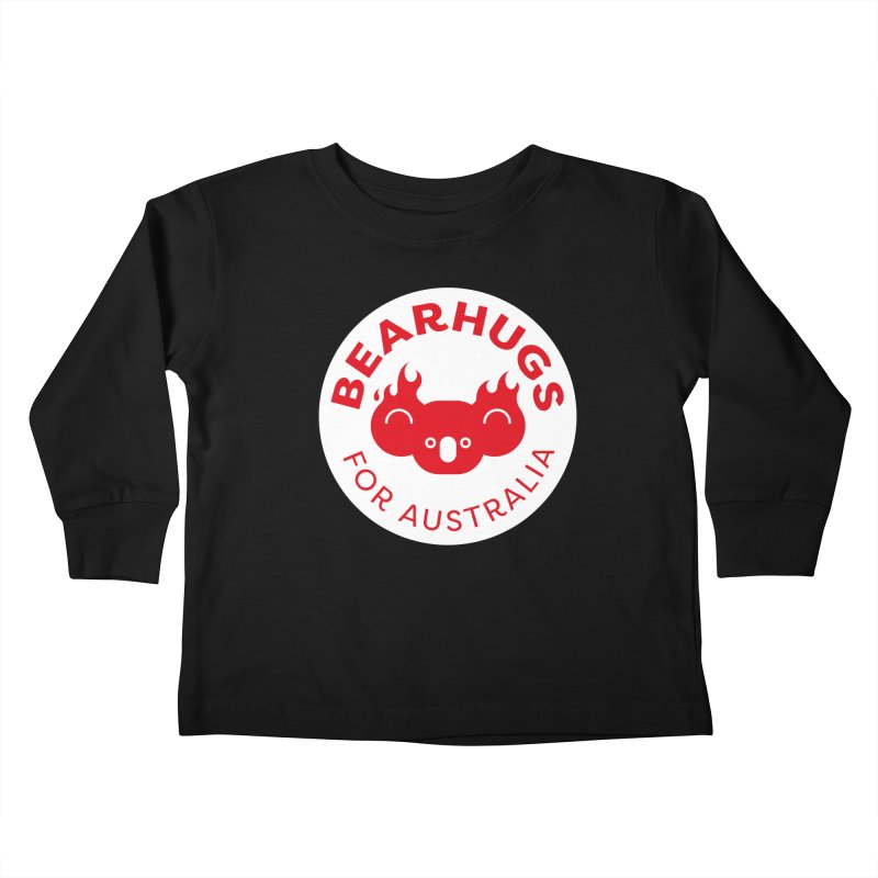 Bearhugs for Australia Kids Toddler Longsleeve T-Shirt by Bearhugs For Australia