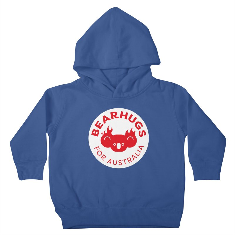 Bearhugs for Australia Kids Toddler Pullover Hoody by Bearhugs For Australia