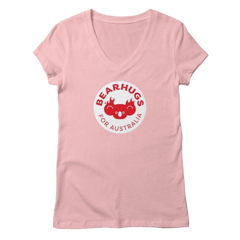 Bearhugs for Australia Women's V-Neck by Bearhugs For Australia