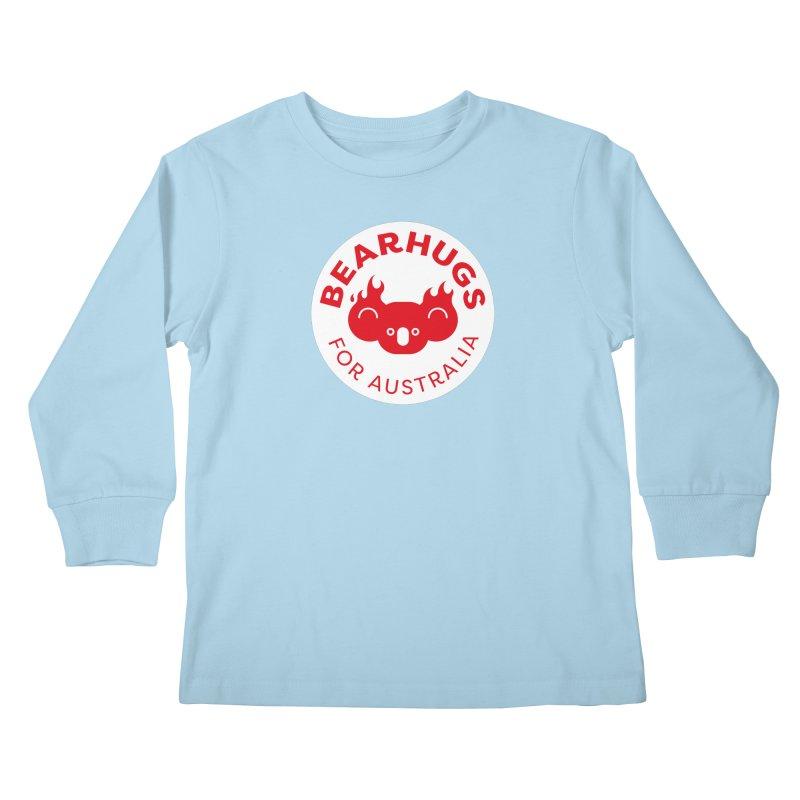Bearhugs for Australia Kids Longsleeve T-Shirt by Bearhugs For Australia