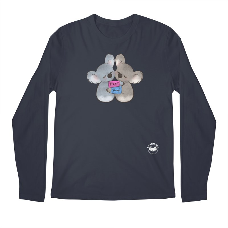 Little Bear Hugs Men's Longsleeve T-Shirt by Bearhugs For Australia