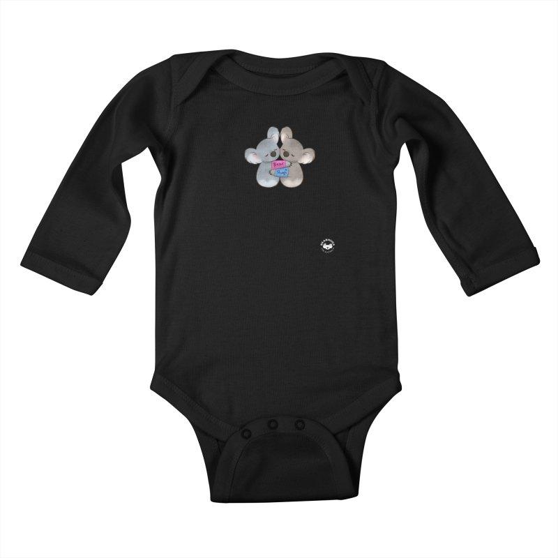 Little Bear Hugs Kids Baby Longsleeve Bodysuit by Bearhugs For Australia