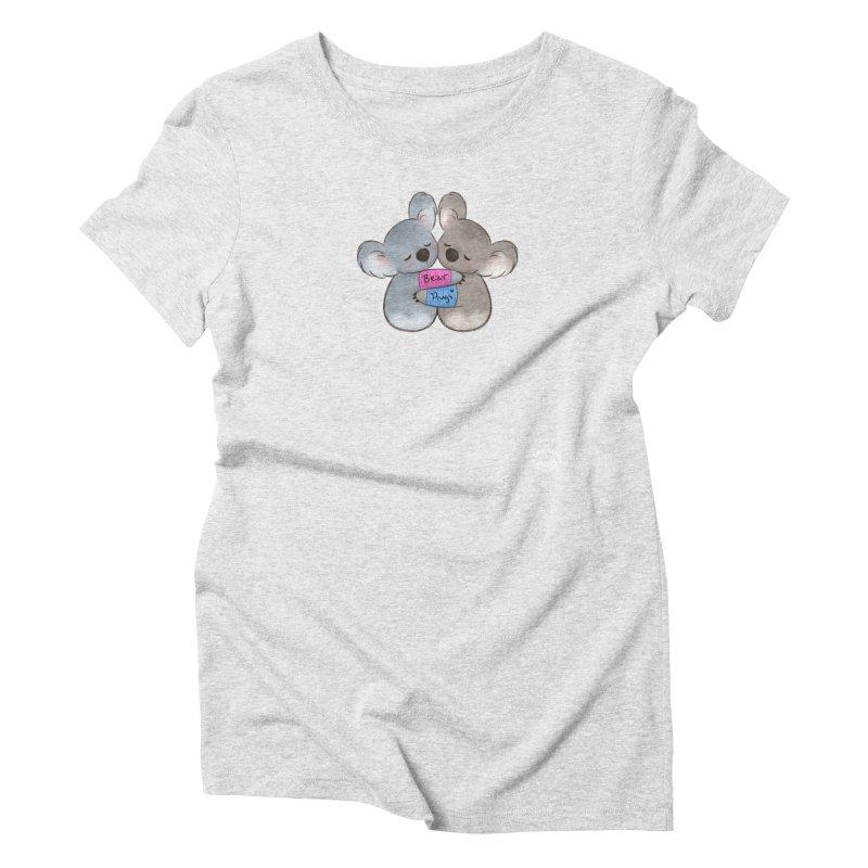 Little Bear Hugs Women's T-Shirt by Bearhugs For Australia