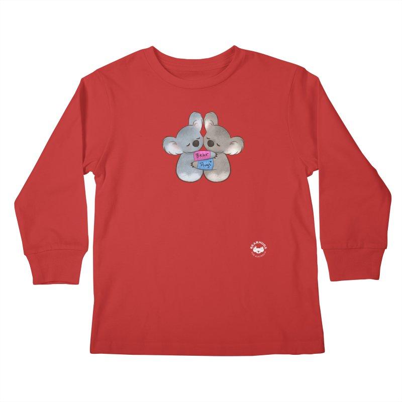 Little Bear Hugs Kids Longsleeve T-Shirt by Bearhugs For Australia