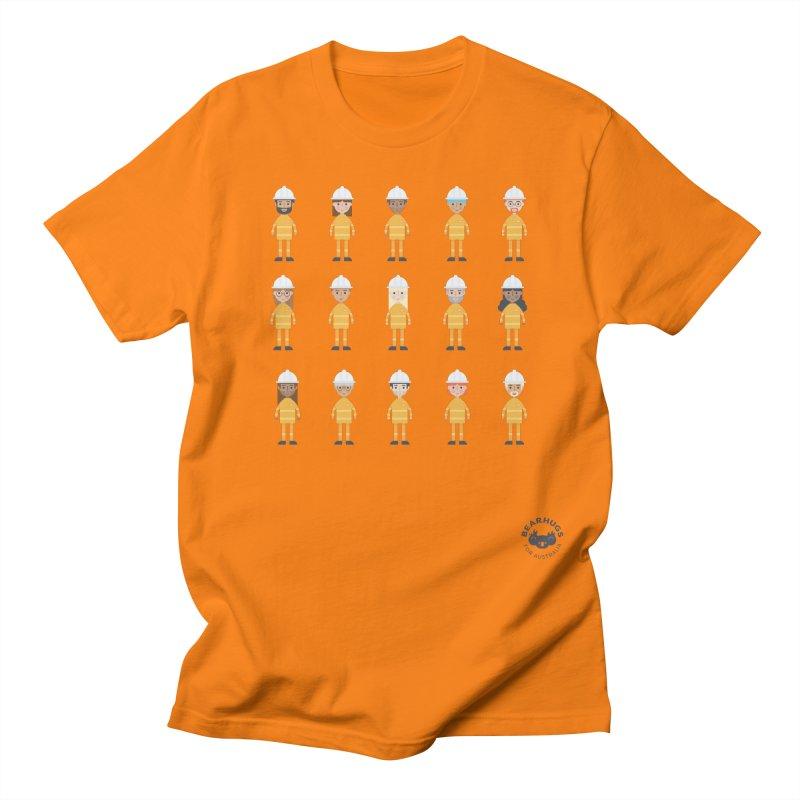 Aussie Firies Men's T-Shirt by Bearhugs For Australia