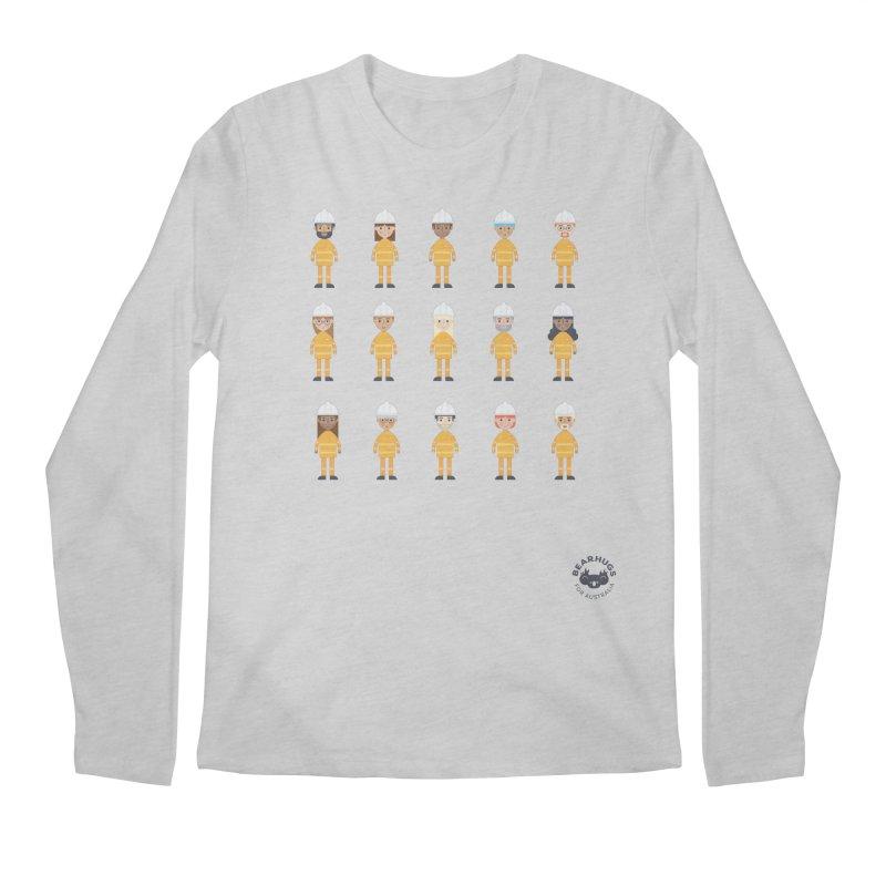 Aussie Firies Men's Longsleeve T-Shirt by Bearhugs For Australia