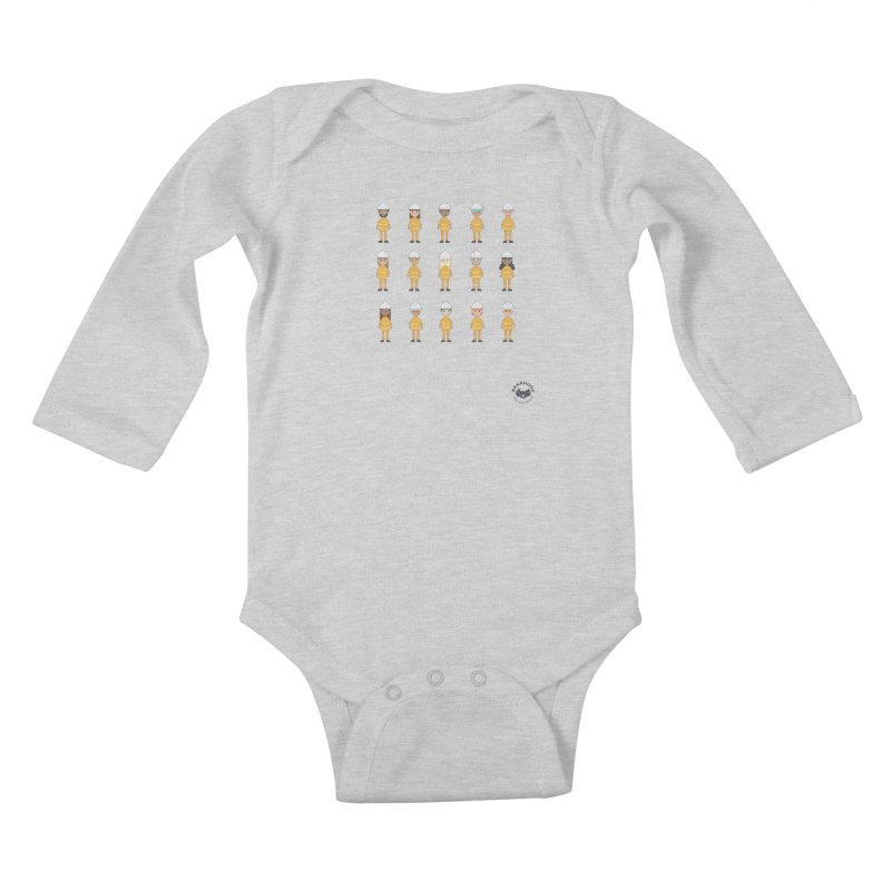 Aussie Firies Kids Baby Longsleeve Bodysuit by Bearhugs For Australia