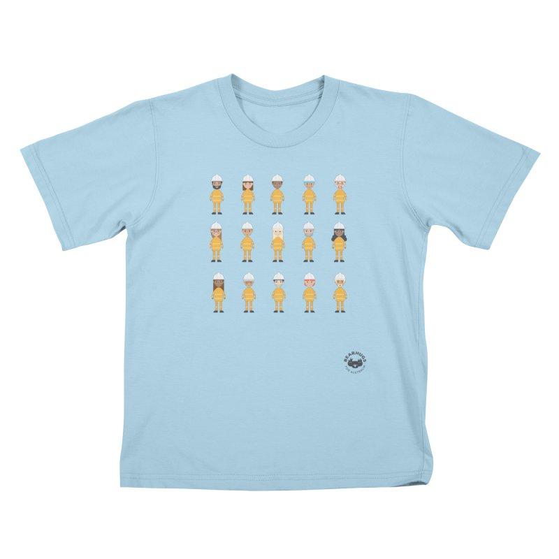 Aussie Firies Kids T-Shirt by Bearhugs For Australia