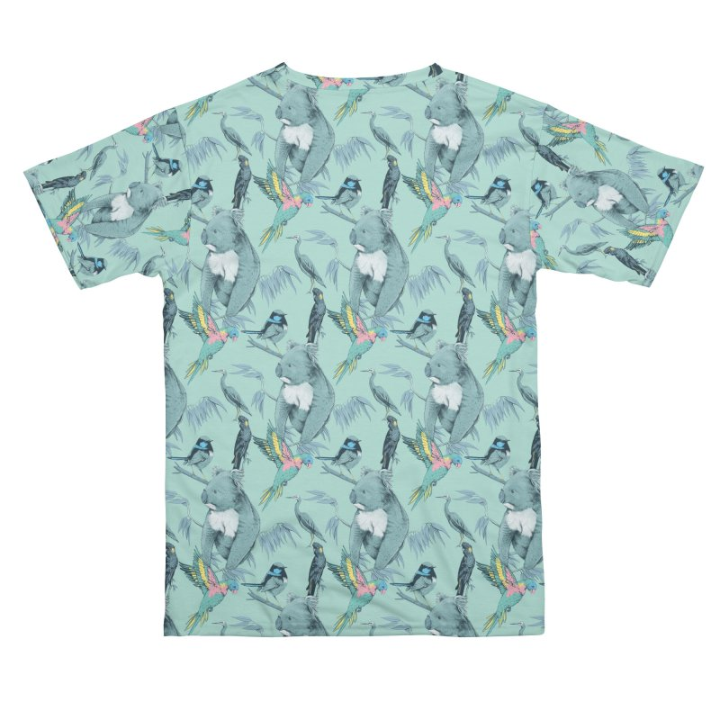 Australian Wildlife of the Adelaide Hills Men's Cut & Sew by Bearhugs For Australia
