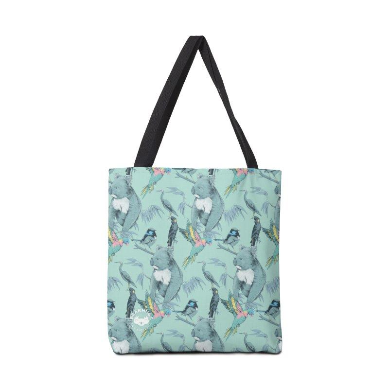 Australian Wildlife of the Adelaide Hills Accessories Bag by Bearhugs For Australia