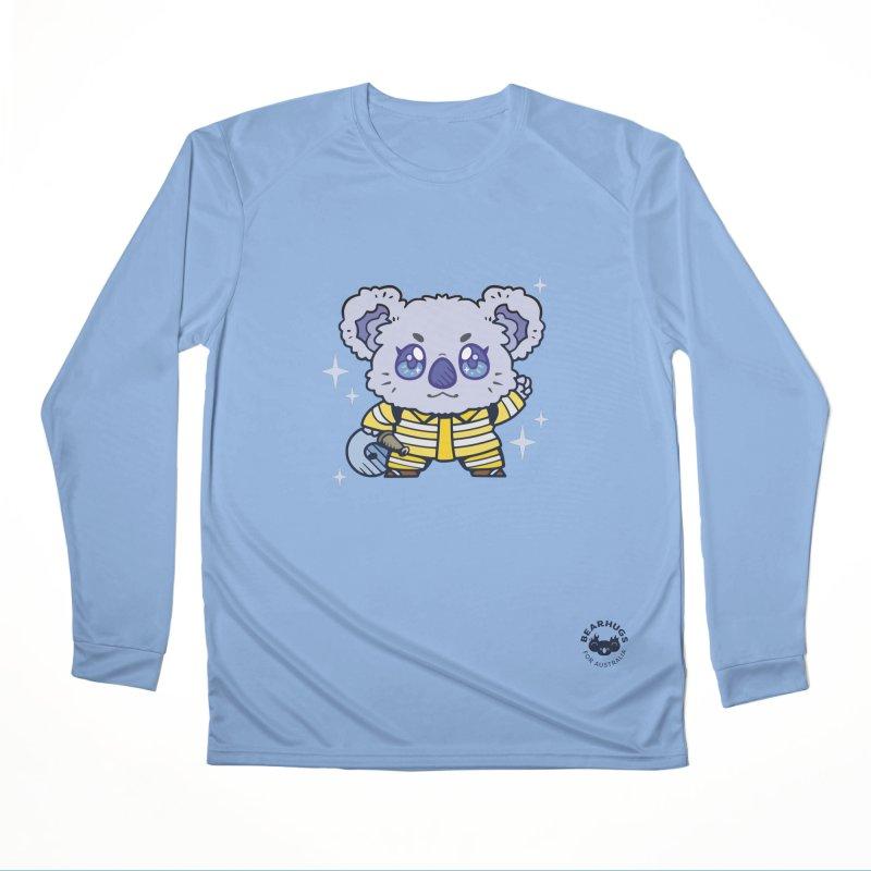 Australian Firefighter Koala Women's Longsleeve T-Shirt by Bearhugs For Australia