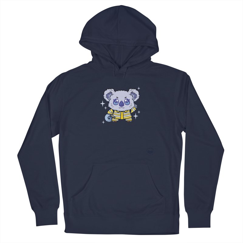 Australian Firefighter Koala Men's Pullover Hoody by Bearhugs For Australia