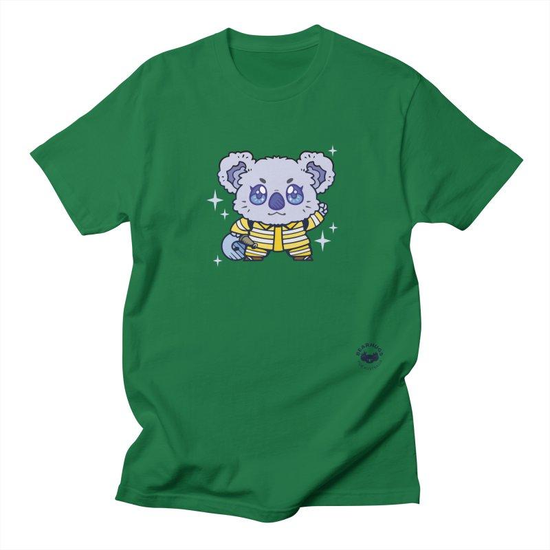 Australian Firefighter Koala Men's T-Shirt by Bearhugs For Australia