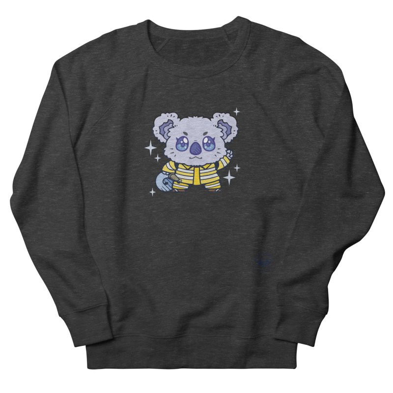 Australian Firefighter Koala Men's Sweatshirt by Bearhugs For Australia