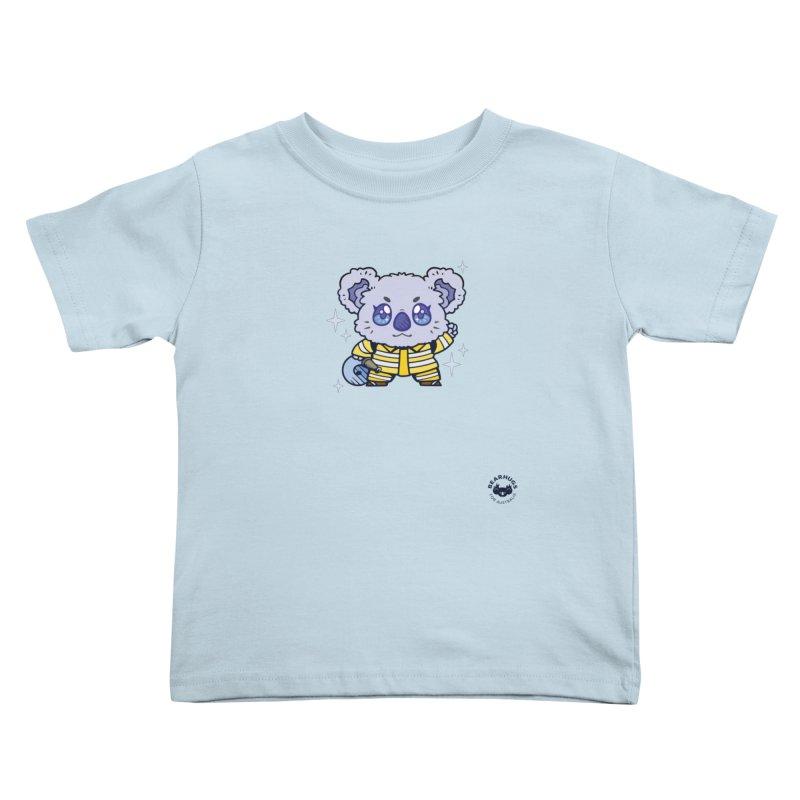 Australian Firefighter Koala Kids Toddler T-Shirt by Bearhugs For Australia