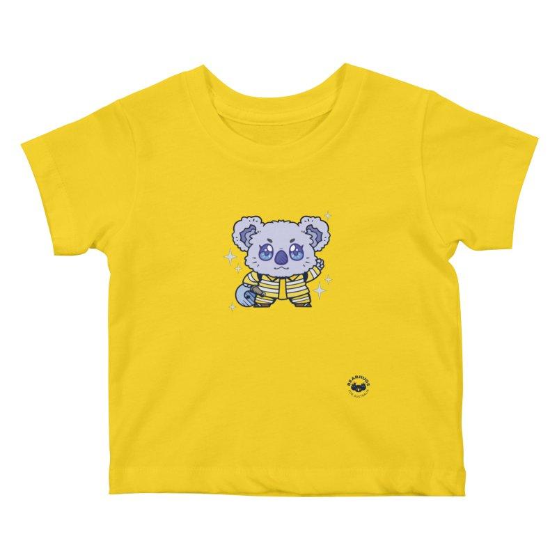 Australian Firefighter Koala Kids Baby T-Shirt by Bearhugs For Australia
