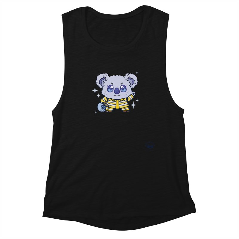 Australian Firefighter Koala Women's Tank by Bearhugs For Australia