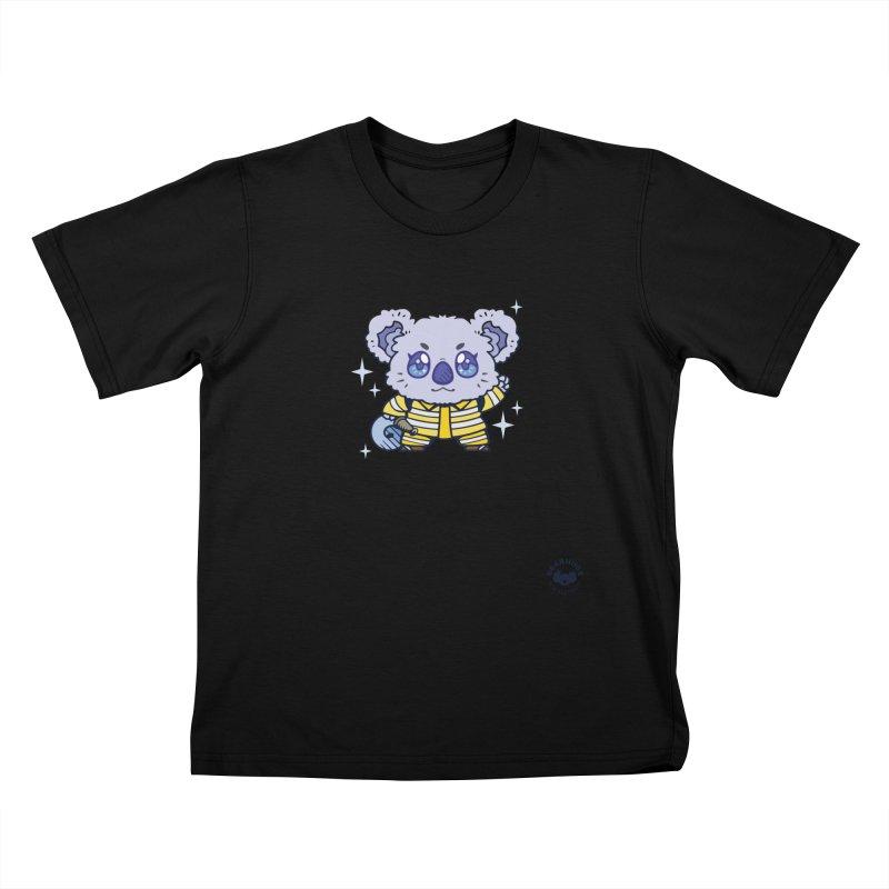 Australian Firefighter Koala Kids T-Shirt by Bearhugs For Australia