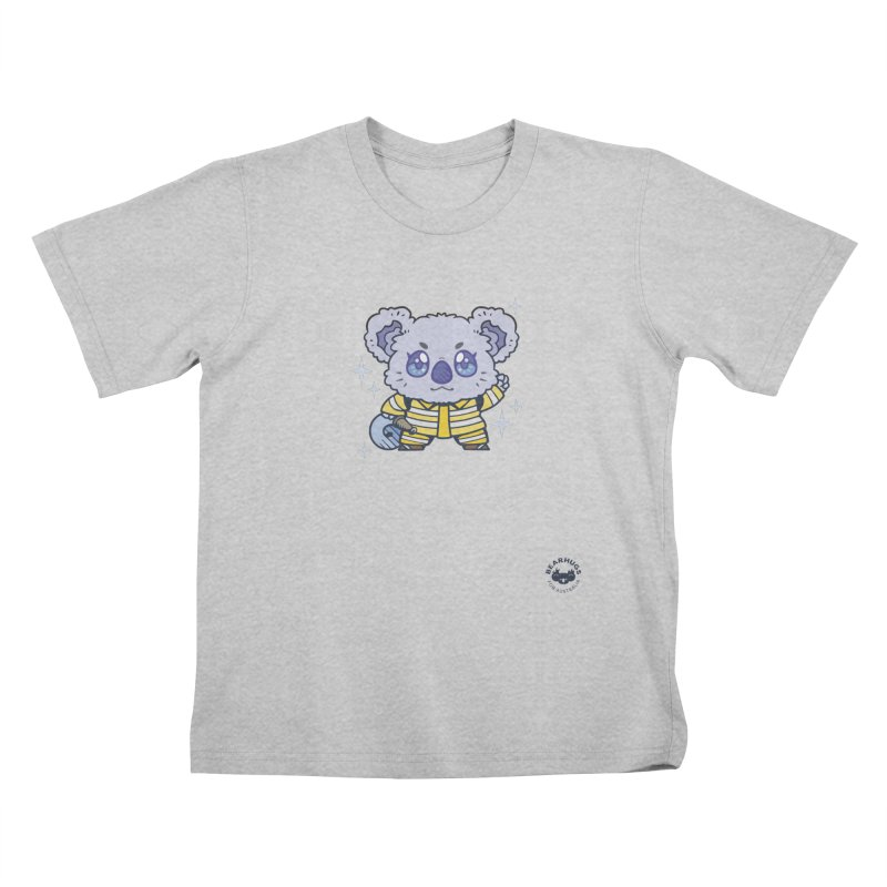 Australian Firefighter Koala Kids T-Shirt by Bearhugs For Australia