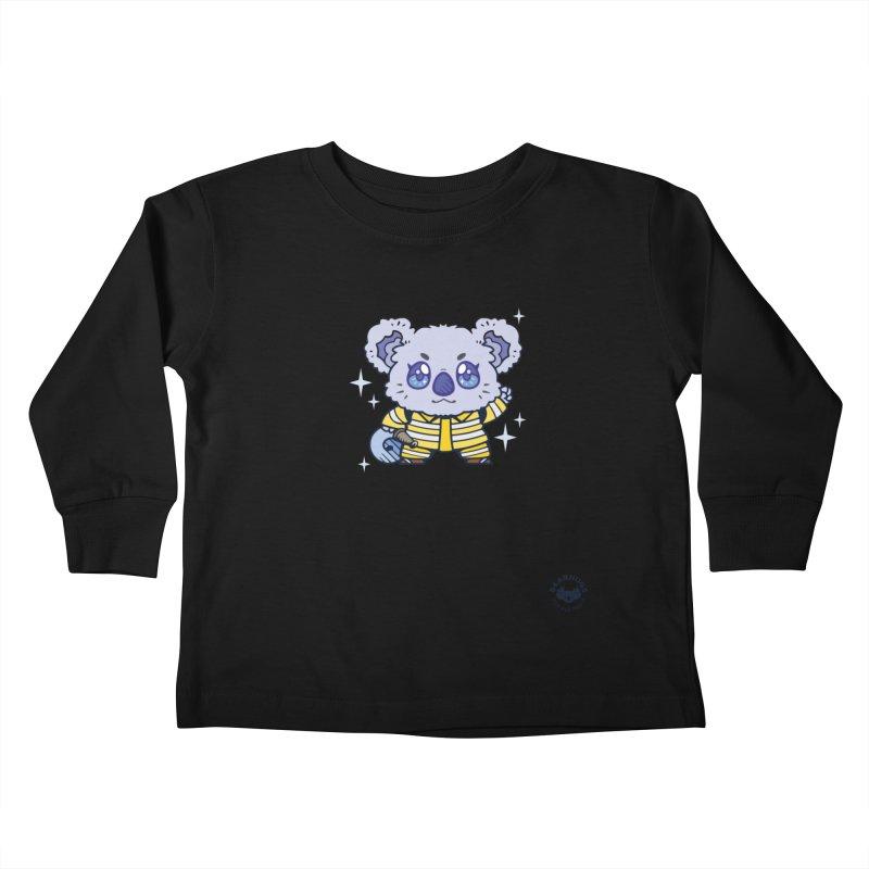Australian Firefighter Koala Kids Toddler Longsleeve T-Shirt by Bearhugs For Australia