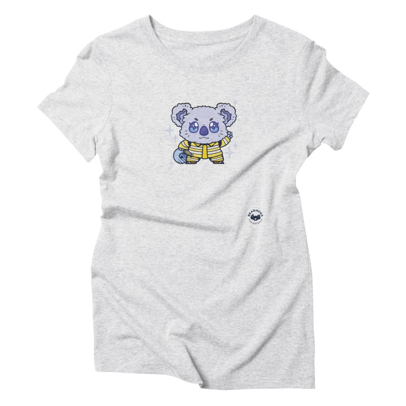 Australian Firefighter Koala Women's T-Shirt by Bearhugs For Australia