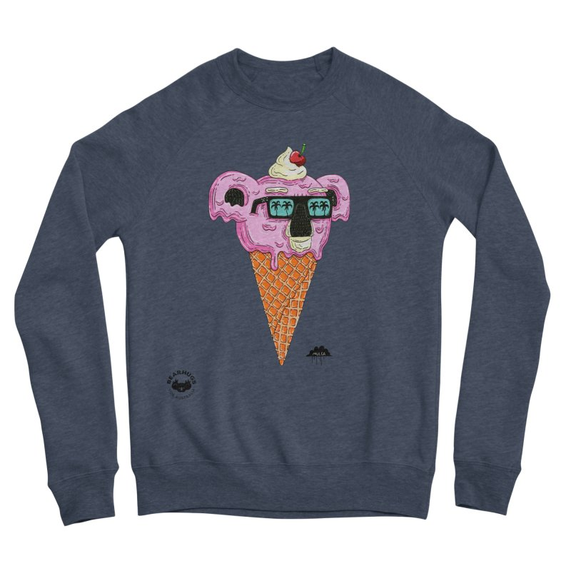 Mulga Icecream Koala Men's Sweatshirt by Bearhugs For Australia
