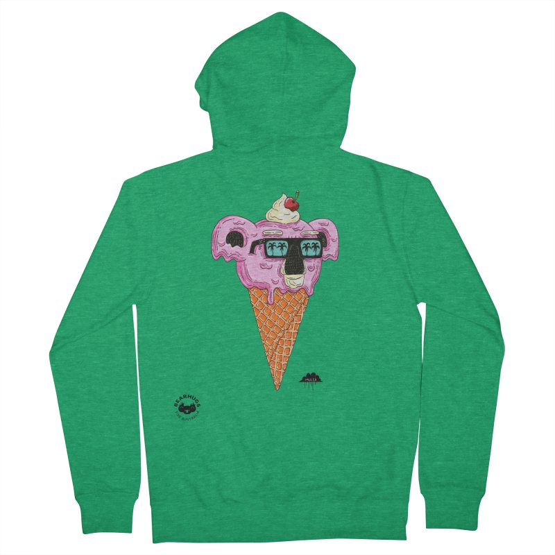 Mulga Icecream Koala Women's Zip-Up Hoody by Bearhugs For Australia
