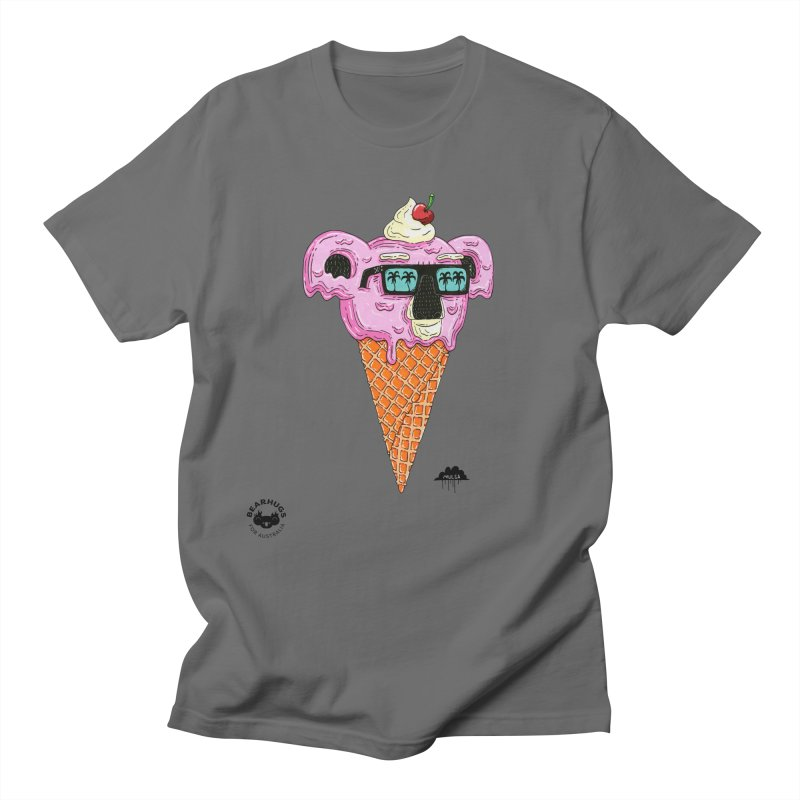 Mulga Icecream Koala Men's T-Shirt by Bearhugs For Australia