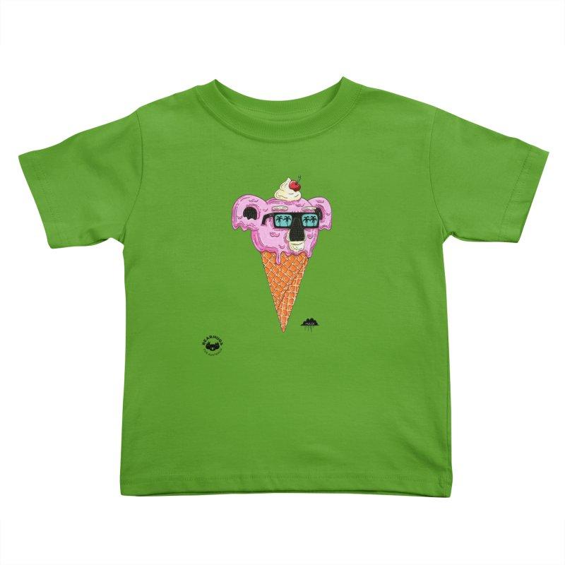 Mulga Icecream Koala Kids Toddler T-Shirt by Bearhugs For Australia