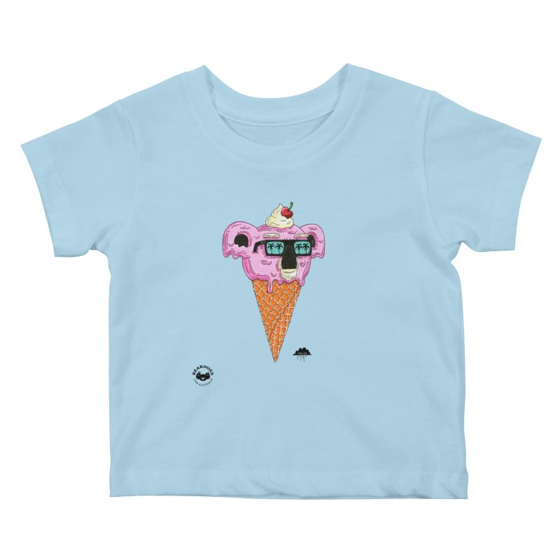Mulga Icecream Koala Kids Baby T-Shirt by Bearhugs For Australia