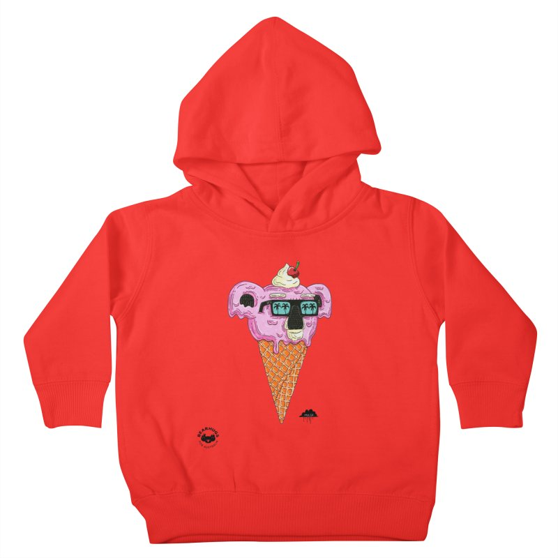 Mulga Icecream Koala Kids Toddler Pullover Hoody by Bearhugs For Australia