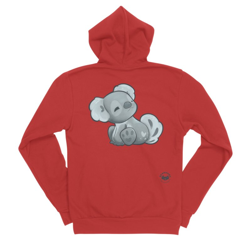 Cuddly Koala Men's Zip-Up Hoody by Bearhugs For Australia