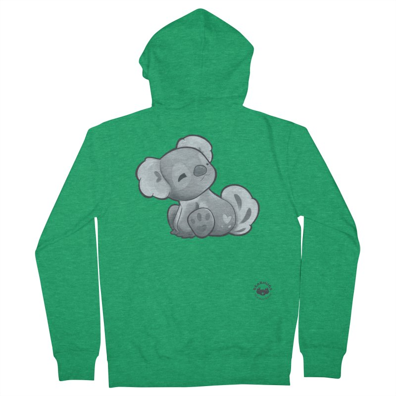 Cuddly Koala Women's Zip-Up Hoody by Bearhugs For Australia