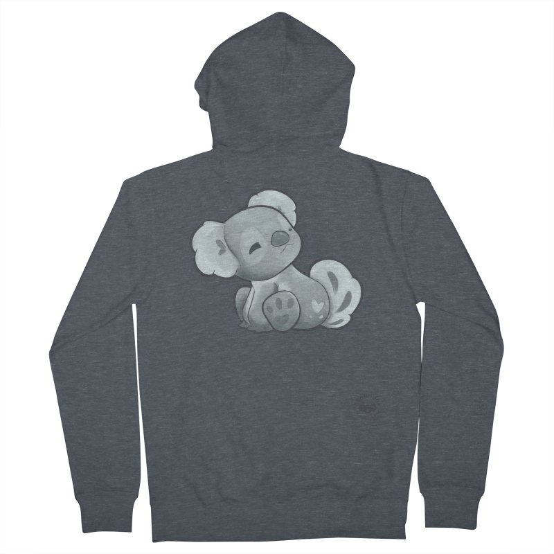 Cuddly Koala Men's Zip-Up Hoody by Bearhugs For Australia
