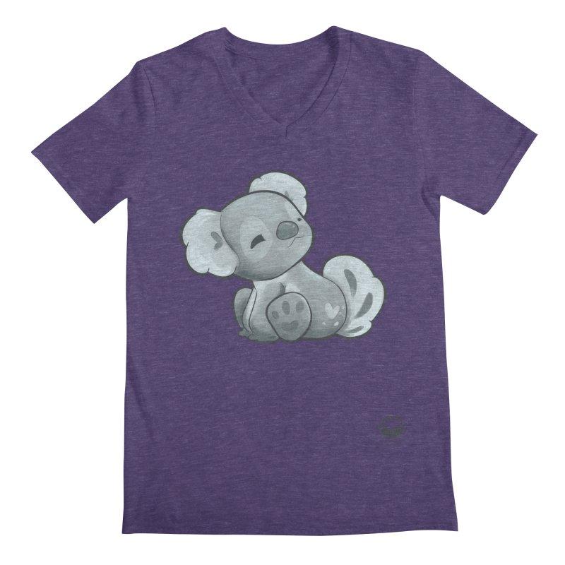Cuddly Koala Men's V-Neck by Bearhugs For Australia