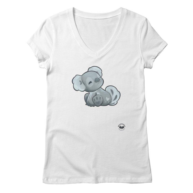 Cuddly Koala Women's V-Neck by Bearhugs For Australia