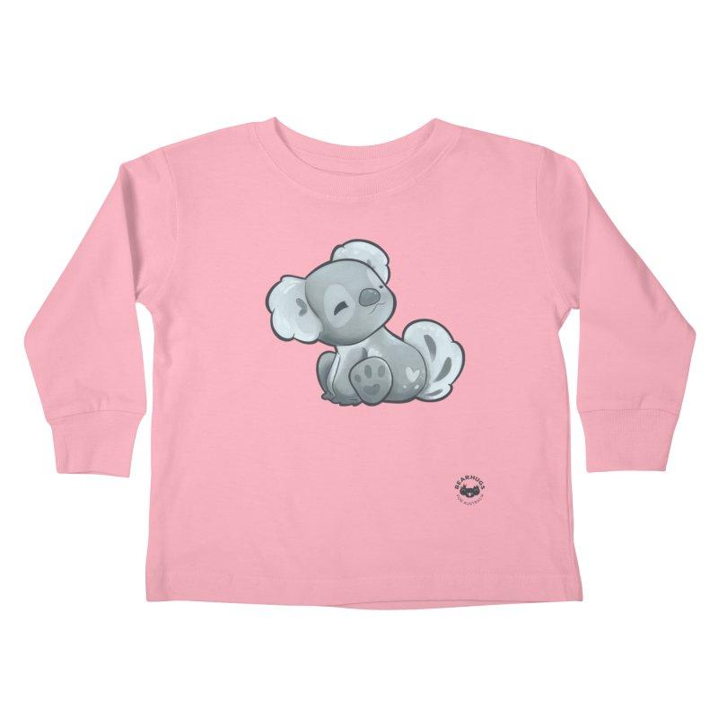 Cuddly Koala Kids Toddler Longsleeve T-Shirt by Bearhugs For Australia