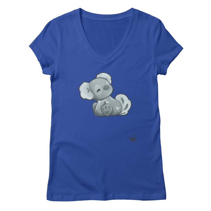 Cuddly Koala Women's V-Neck by Bearhugs For Australia